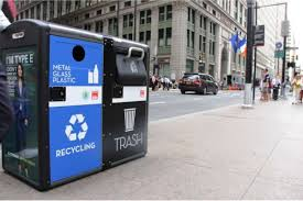 Solar-powered trash cans provide free public Wi-Fi in US